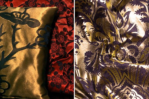 Gold Fabrics - Unique Fabrics