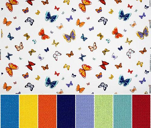 Flutter Butterfly fabric