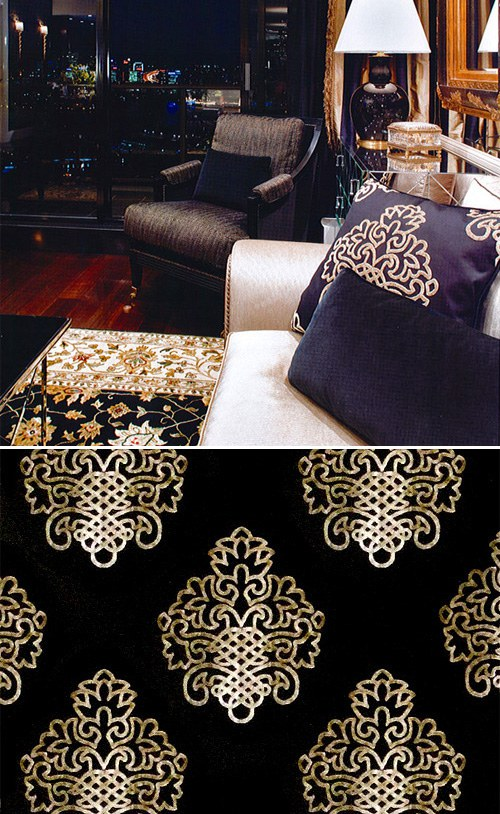 Nurveyev Cushion Unique Fabrics
