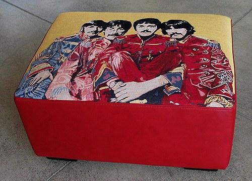 Beatles fabric - Unique Fabrics
