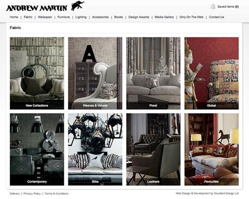 Andrew Martin fabrics
