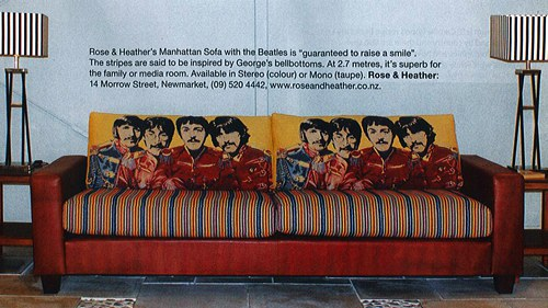 Beatles fabric - Unique Fabrics