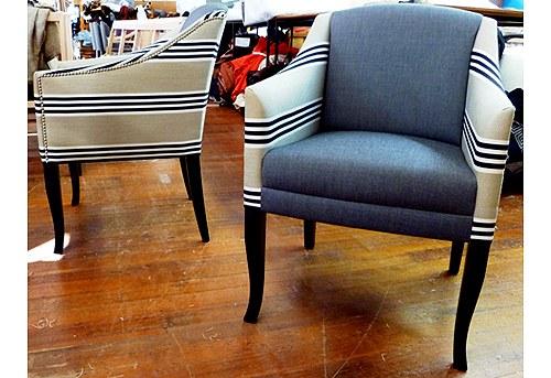 Montreux Chair, Unique Fabrics