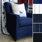 Interior Design Denim fabric