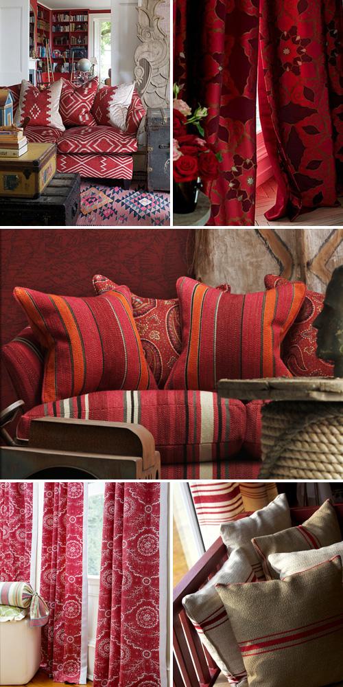 Red Fabrics Unique Fabrics 2