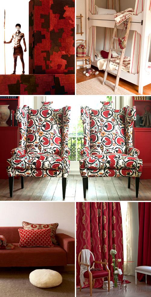 Red Fabrics Unique Fabrics 3