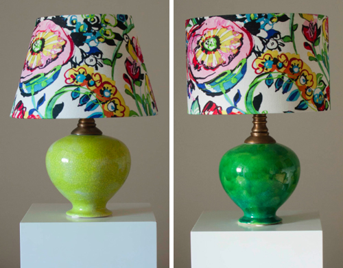 Flower Power Lamps