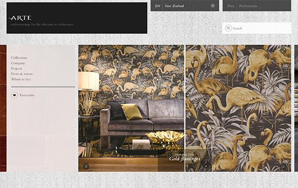 Arte website