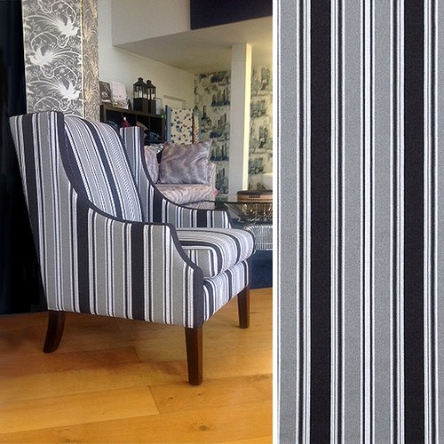 Rocco Stripe Chair