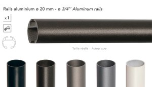 62604 Rail 20mm 240cm