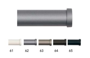 62635 2 Cap Finials 20mm